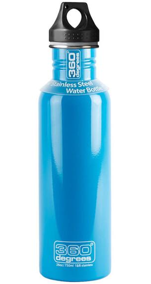 360° degrees Stainless Drinkfles 750ml blauw